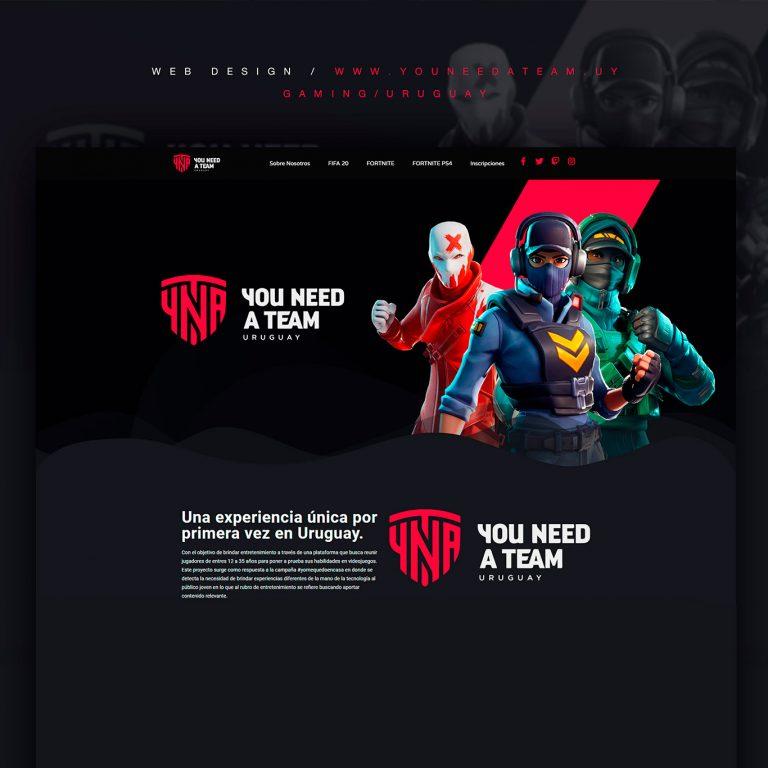 YNAT - Web design